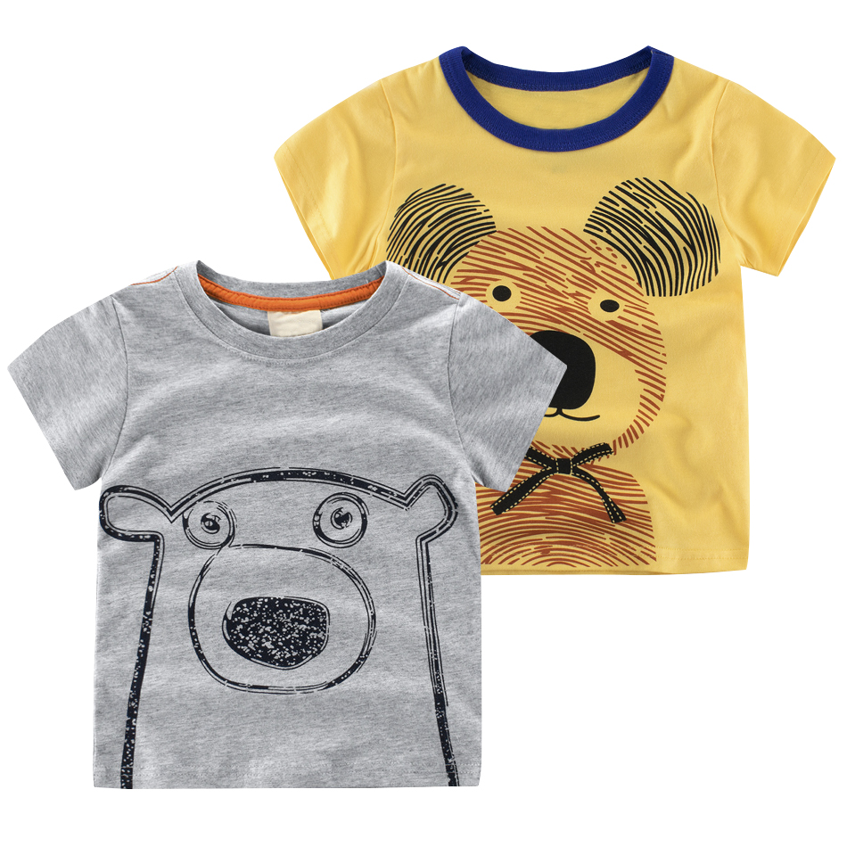 Cute Animal Kids T Shirt For Children T Shirt Summer