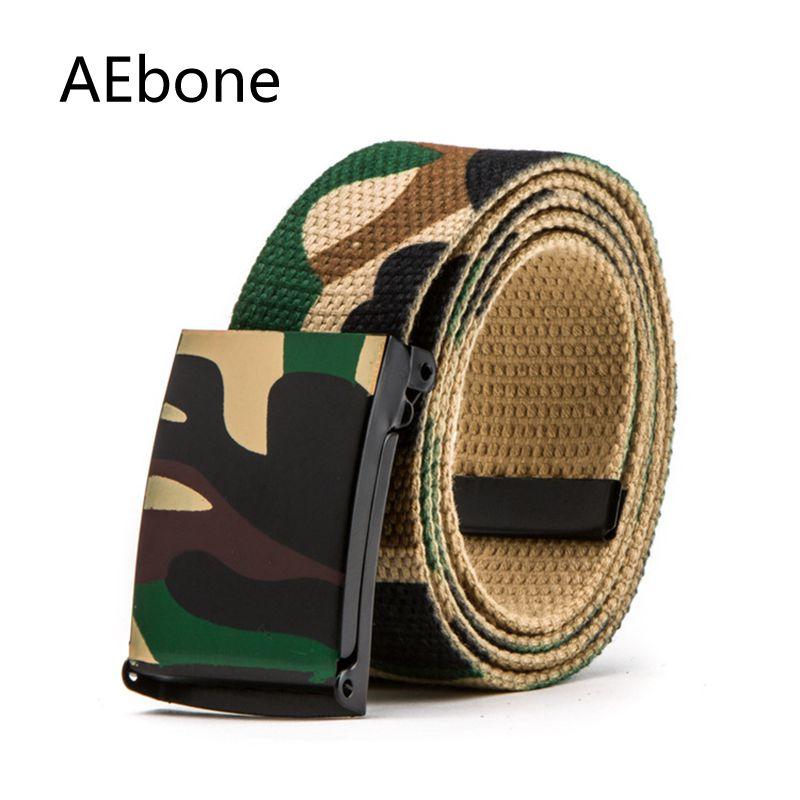 Accessoires Aebone Camo Gürtel Militär Ausrüstung Armee Western Cowboy Gürtel Für Jungen Gürtel Kemer Strap Leinwand Für Jeans Yb009 Mutter & Kinder
