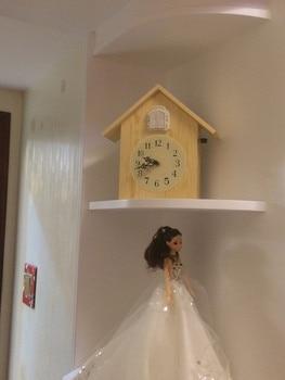 Antique Cuckoo Clock | Cuckoo Clock Solid Wood Cuckoo Bird Wall Clock Simple Living Room Seat Clock Creative Bedroom Cuckoo Clock