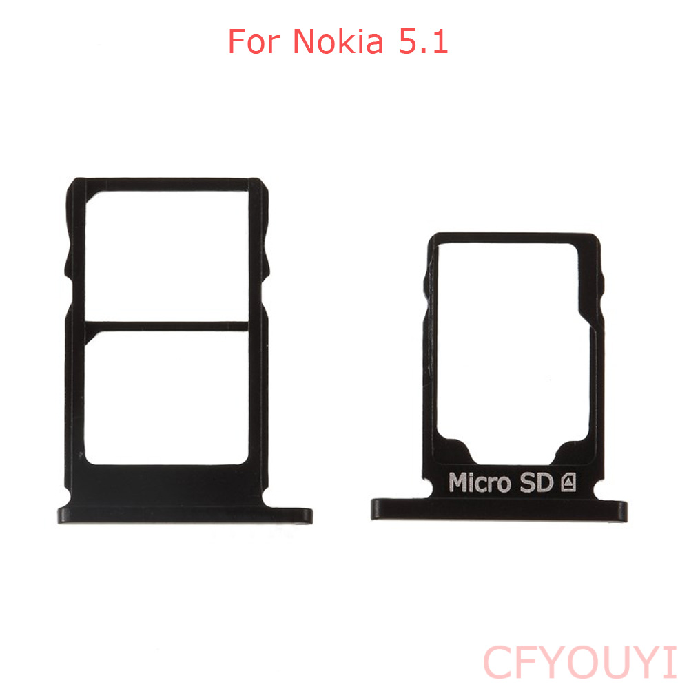 New SIM Slot Micro SD Card Tray Holder Replacement For Nokia 5.1