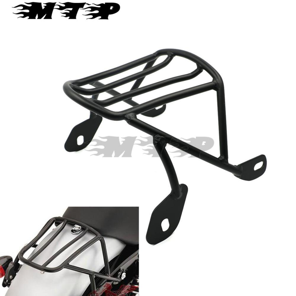 Motorcycle Luggage Baggage Holder Cargo Frame Rack Carrier Shelf Mounting Screws For Harley Sportster XL883 XL1200 X48 2004-2016 partol black car roof rack cross bars roof luggage carrier cargo boxes bike rack 45kg 100lbs for honda pilot 2013 2014 2015