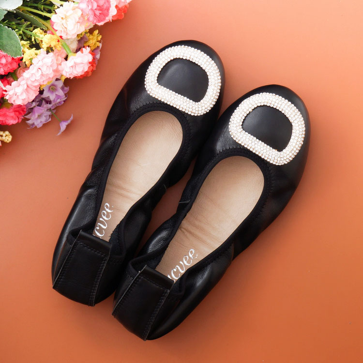 Genuine leather summer women flats loafers shoes female casual flat shoes women loafers shoes soft leather flat women's shoes