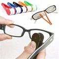 Mini Sun Glasses Eyeglass Microfiber Brush Cleaner New wholesale Free Shipping