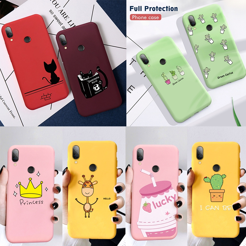 Silicon Phone Case For Xiaomi Redmi 7 7A 6A Note 5 6 7 Pro 8 Pro 9 Mi 9 SE 9T Pro t Mi A2 Lite Mi A3 Mi9 Cover Soft Phone Case(China)
