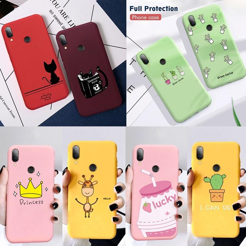 Silicon Phone Case For Xiaomi Redmi 7 7A 6A Note 5 6 7 Pro 8 Pro 9 Mi 9 SE 9T Pro t Mi A2 Lite Mi A3 Mi9 Cover Soft Phone Case(China)