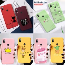 Silicon Phone Case For Xiaomi Redmi 7 7A 6A Note 5 6 7 Pro 8 Pro 9 Mi 9 SE 9T Pro t Mi 8 A2 Lite Mi A3 Mi9 Cover Soft Phone Case(China)