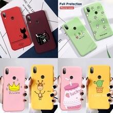 Silicon Phone Case For Xiaomi Redmi 7 7A 6A Note 5 6 7 Pro 8 Pro 9 Mi 9 SE 9T Pro t Mi 8 A2 Lite Mi A3 Mi9 Cover Soft Phone Case