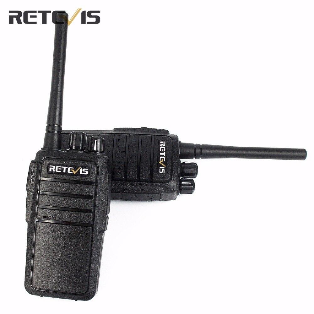 2X Professionelle Walkie Talkie Retevis RT21 Tragbare Zweiwegradio Scrambler CTCSS/DCS Radio Transceiver 2,5 Watt UHF Walkly Talkly