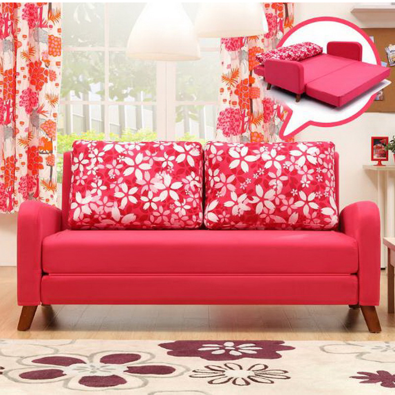 260303/1.4 m Multi function double sofa/Foldable /living room small ...