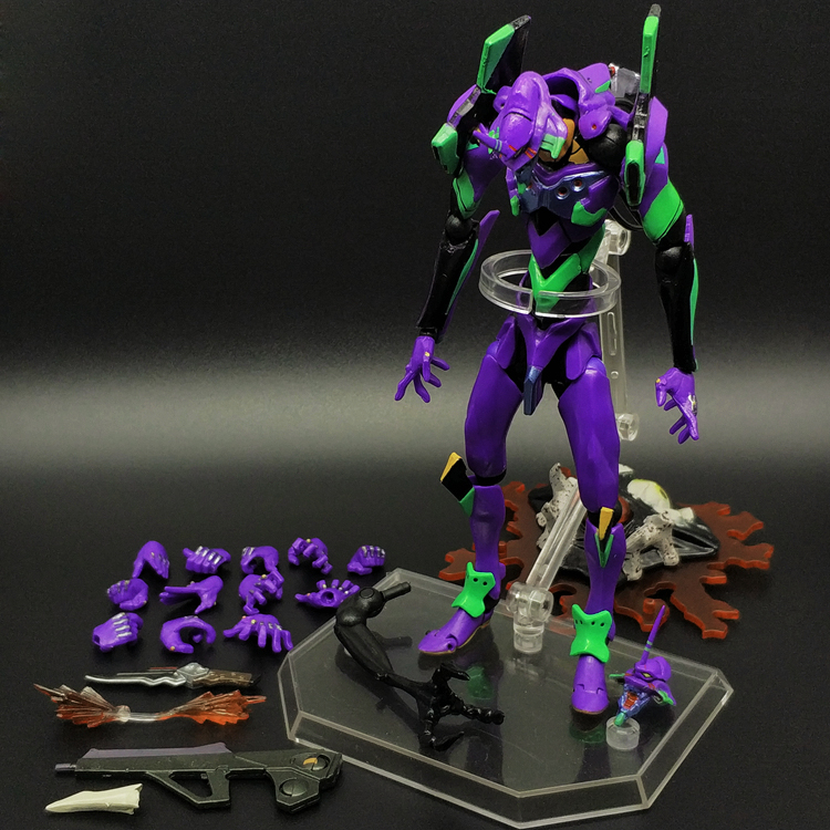 Neon Genesis Evangelion EVA Evangelion Unit-01 Test Type-01 PVC Action Figure with LED Light Colelction Model ToyNeon Genesis Evangelion EVA Evangelion Unit-01 Test Type-01 PVC Action Figure with LED Light Colelction Model Toy