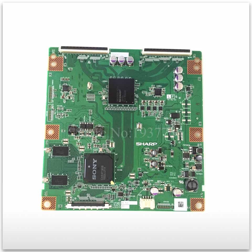 original KDL-46EX700 logic board CPWBX RUNTK 4353TP ZC ZB ZE ZZ 4353tp cpwbx runtk za zb zc zd ze zz lcd board logic board cpwbx4353tp runtk4353tp pls confrim z you need connector nocable
