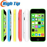 Unlocked Original Apple Iphone 5C Phone 8MP Camera 16GB 32GB ROM IOS 8 4 0 Wifi
