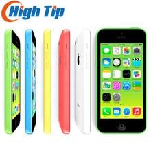"Débloqué Original Apple iphone 5C téléphone 8MP Caméra 16 GB 32 GB ROM IOS 8 4.0 ""Wifi GPS WCDMA 3G Livraison Gratuite Utilisé 1 an de garantie"