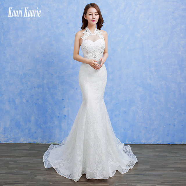 formal ivory mermaid wedding dresses 2018 wedding gowns long white