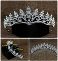 Wedding Tiara, Bridal Crown Tiara with Crystals Rhinestones for Wedding,  Pageants, Princess Parties, Birthday