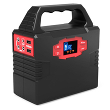 Fuente de alimentación de emergencia de litio UPS, 40800mAh, 110V, 150W, pantalla LED de onda sinusoidal modificada