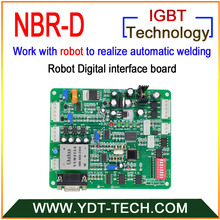 NBR-D робот цифровой интерфейсная плата для промежуточных пластины, что координаты связь между робот и сварочный аппарат