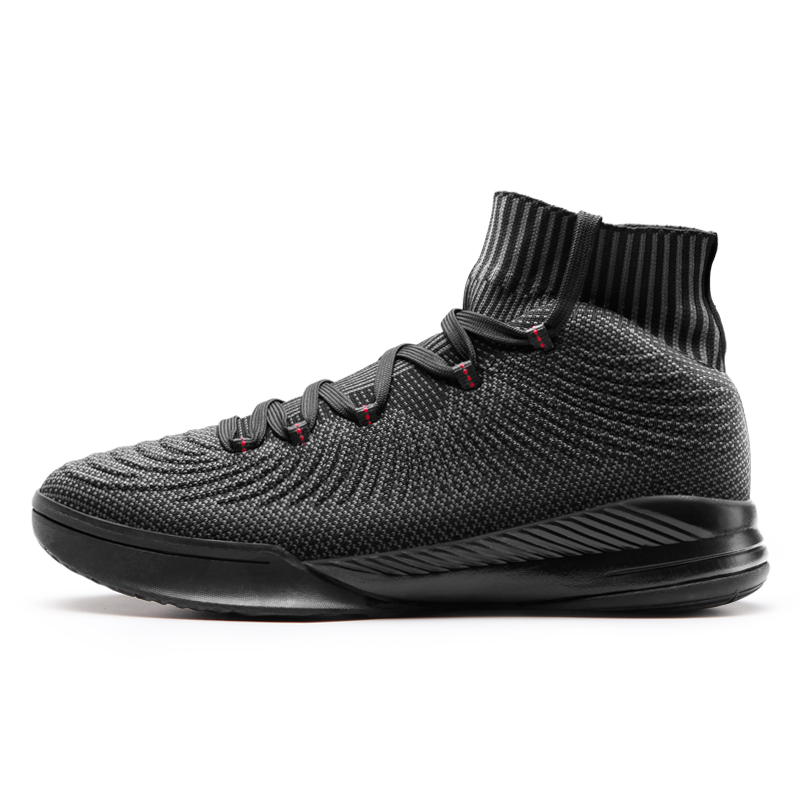 Black Sport Basketball Shoes Men Breathable Basketball Boots Basket femme de marque MenS Basketball Sneakers 74101130 Black