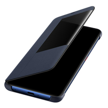 For Huawei Mate 20 Pro Flip Case PU Leather Flip Cover Smart Window View Phone Cases For Huawei Mate 20 X Mate20