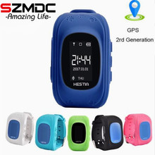 Szmdc Q50 GPS child smart watch Tracker SOS Smart Monitoring Positioning Phone Kids GPS Baby Watch Compatible IOS & Android