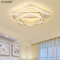 Surface Mount Led Ceiling Lights Remote Control Acrylic Ceiling Lamp For Living Room Bedroom Home Decoration
