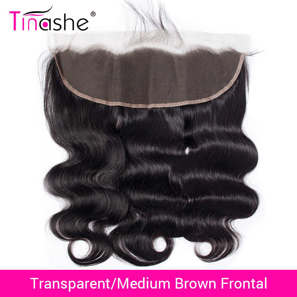 Tinashe Hair Brazilian Body Wave Lace Frontal HD Swiss Lace Frontal Human Hair Remy Hair Transparent Lace Frontal Closure