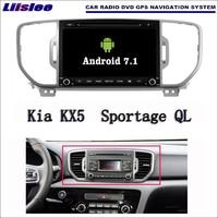 Liislee Android 7.1 2 г Оперативная память для KIA kx5/Sportage QL автомобиля Радио Аудио Видео Мультимедиа dvd плеер WI FI DVR GPS Navi навигации