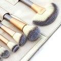 18 unids pinceles de maquillaje cosmético profesional del polvo de la fundación pincel delineador de ojos envío libre
