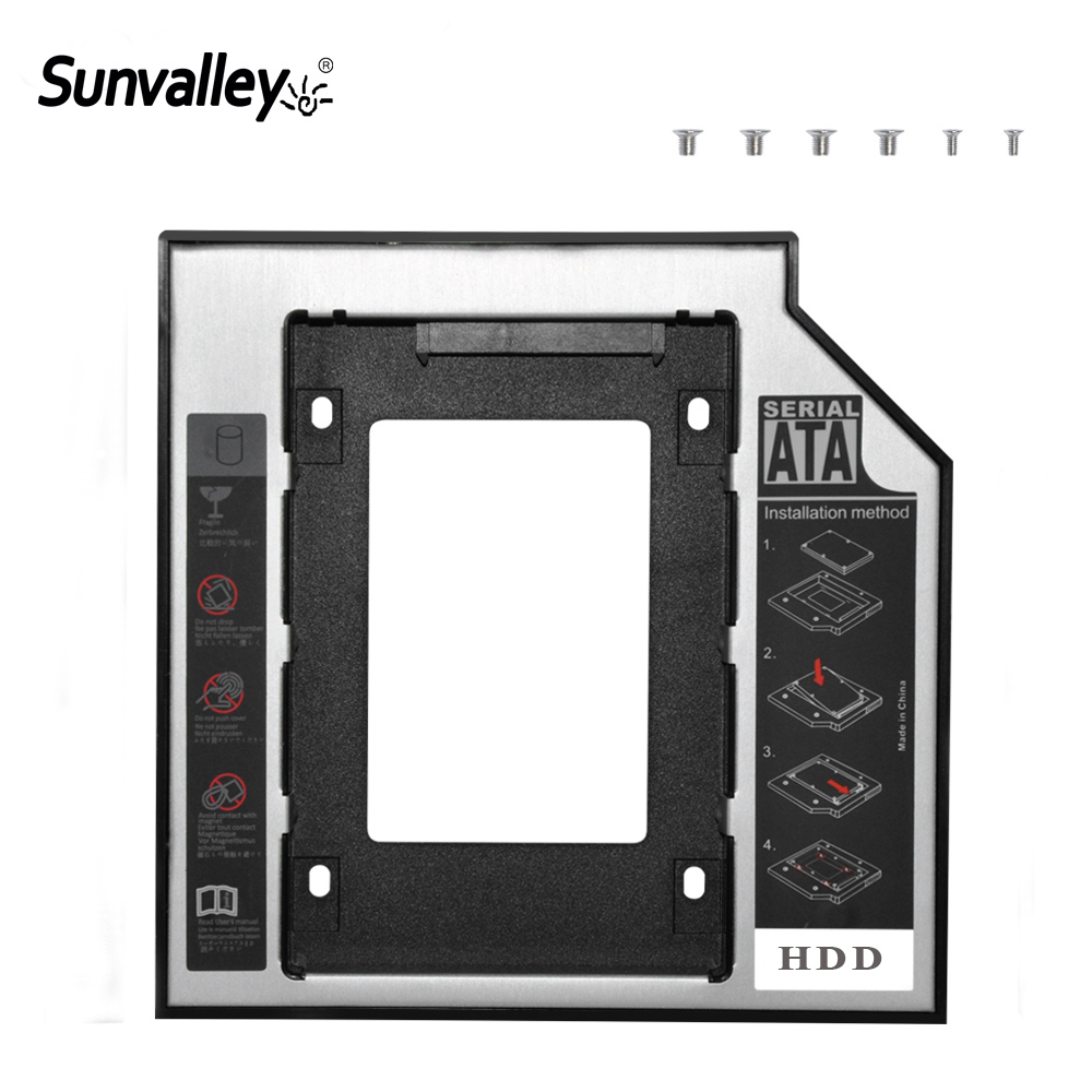 Sunvalley 9.5mm 2nd HDD Caddy 2.5