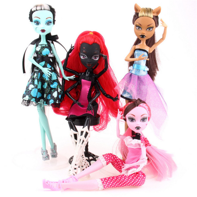 MOMEMO Monster Doll High Quality Joint Activities Gift Fashion Dolls Plastic Monster Toys Doll for Girls Special Dolls Present