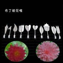 Freies verschiffen Erstaunliche 3D Gelatine Gelee Kunst Werkzeuge jelly nagelkunstwerkzeuge 10 teile/satz made in china