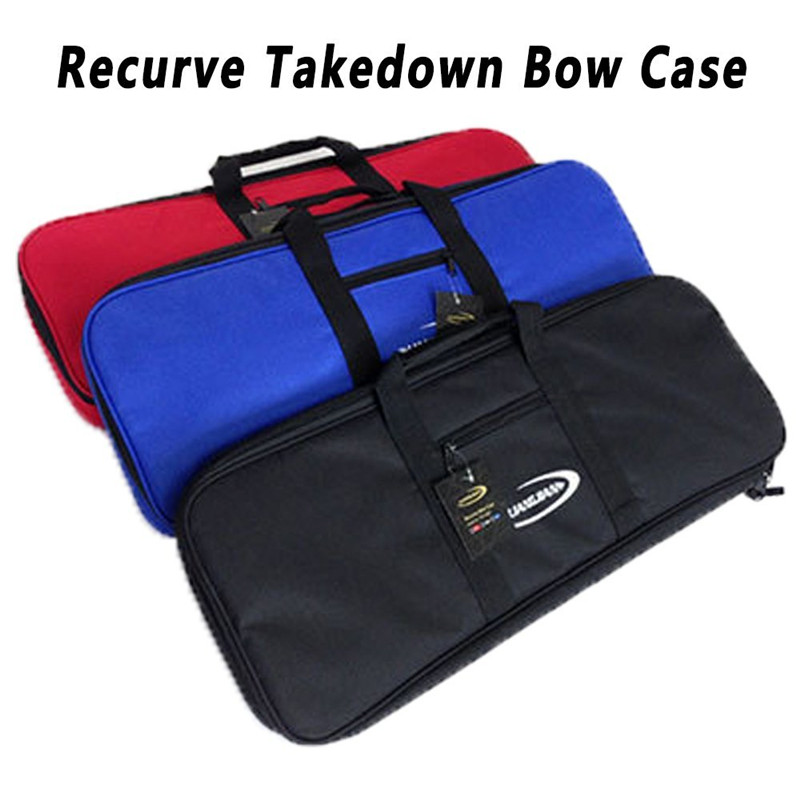Archery Portable Recurve Bow Bag Bow Case Light Weight For Hunting Shooting 3 Colors