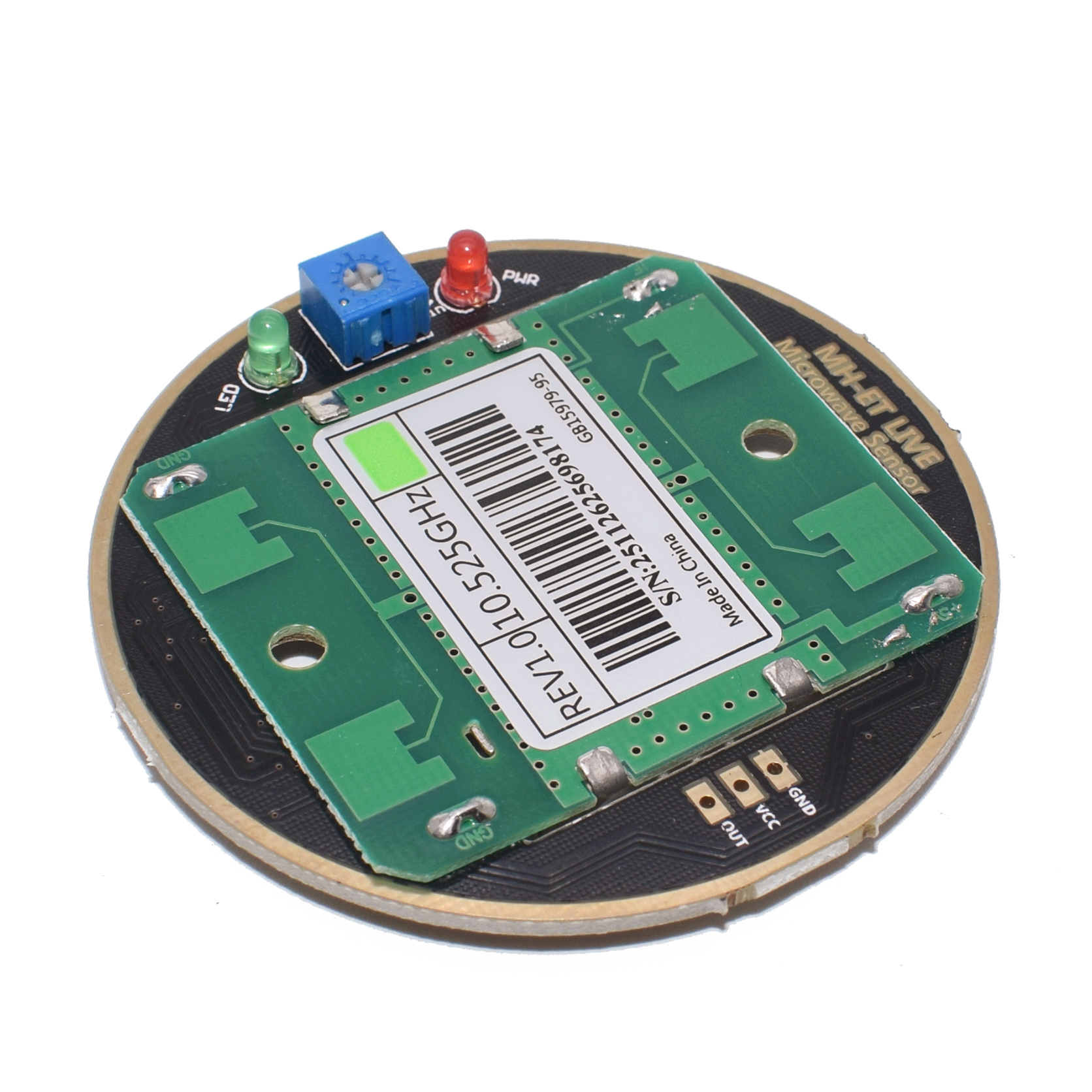 Image 2 - 10PCS MH ET LIVE HB100 X 10.525GHz Microwave Sensor 2 16M Doppler Radar Human Body Induction Switch Module For ardunio-in Sensors from Electronic Components & Supplies