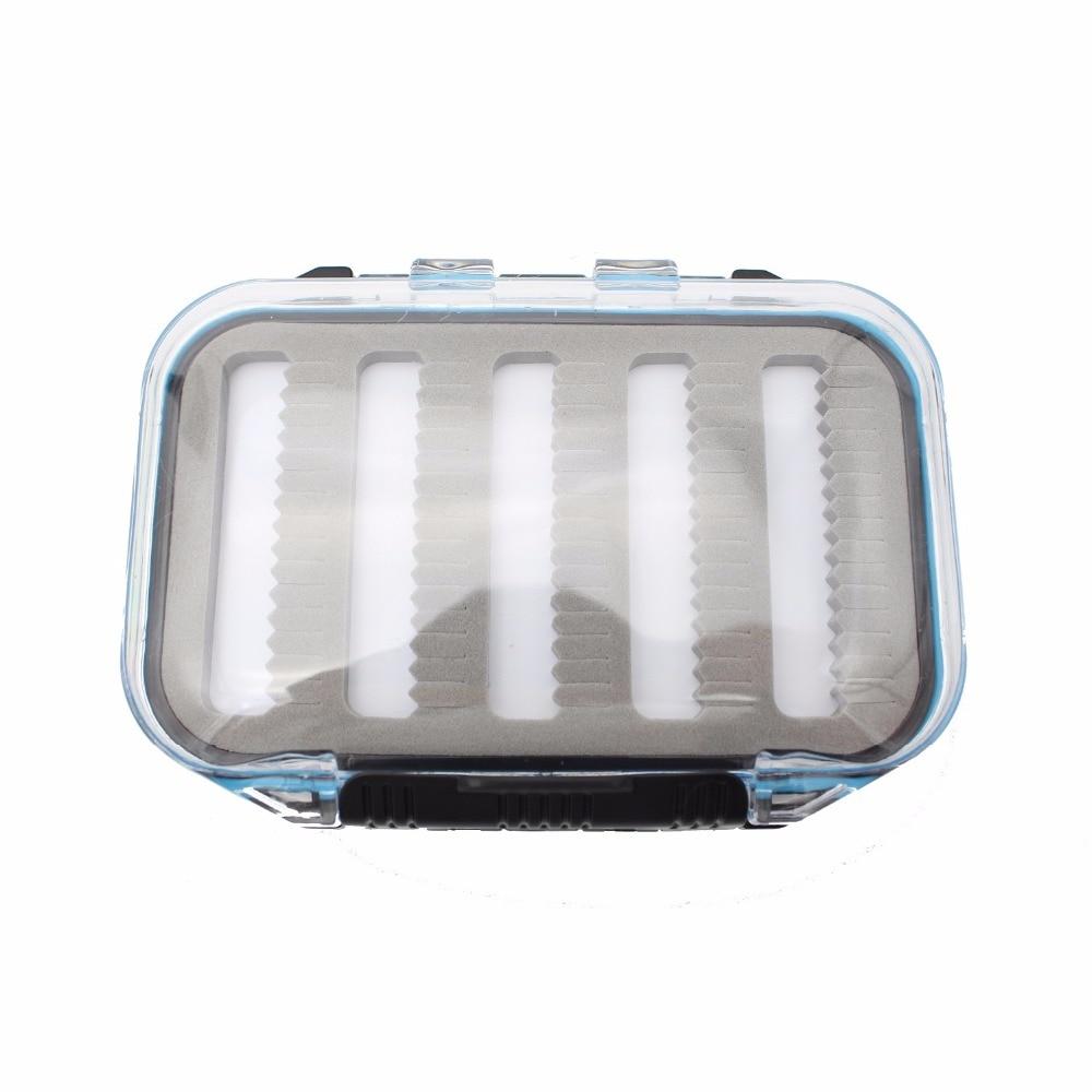Tigofly Пластик Водонепроникний Fly Fishing Box - Риболовля