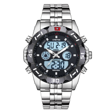 STRYVE 2019 Week Date LED Back Light Watch Waterproof Stainl