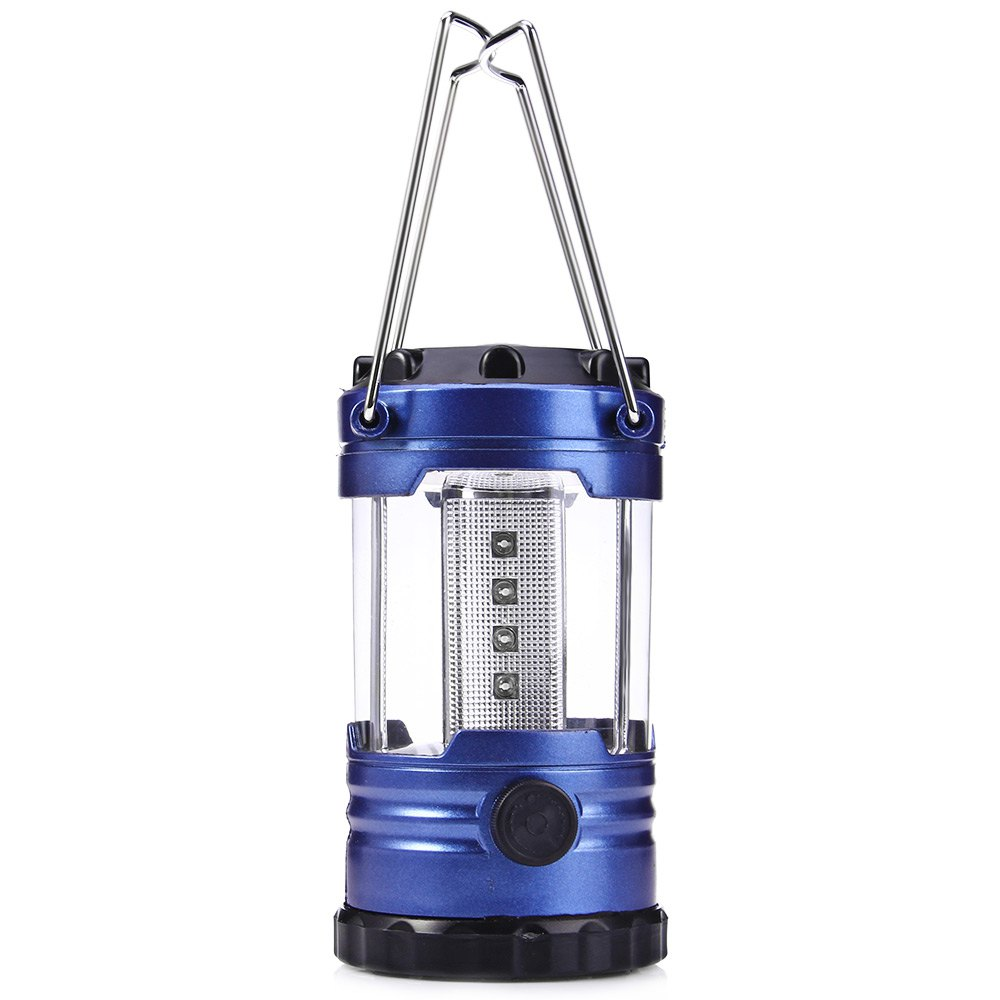 Multifunctional Ultra Bright Portable 12 LED Camping Tent Hand Lantern Lights for Hiking Travel Camping