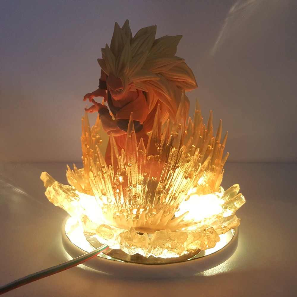 3D Led Vision Creative Anime Dragon Ball Modelling Night