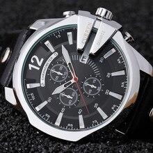 Curren Часы Мужчины Спорт Кварцевые Часы Мужские Часы Лучший Бренд Класса Люкс Водонепроницаемый Кожаный Ремешок Повседневная Наручные Часы Relogio Masculino