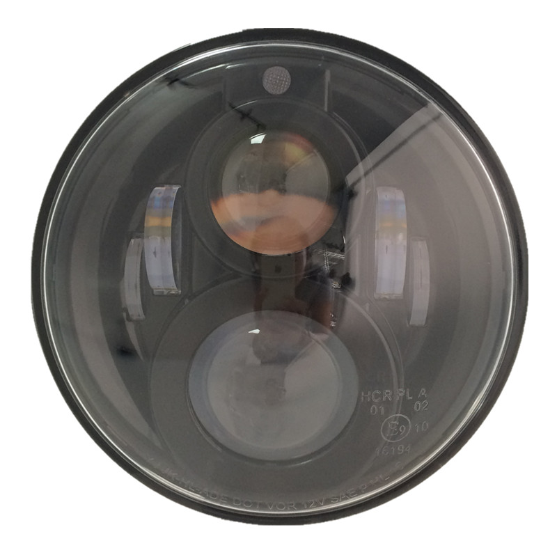 2 х Emarked проектор круглый 7 дюймов светодиодные фары с позиционным светом / габаритный фонарь для Harley гастроли в JK Wrangler внедорожник ТДЖ