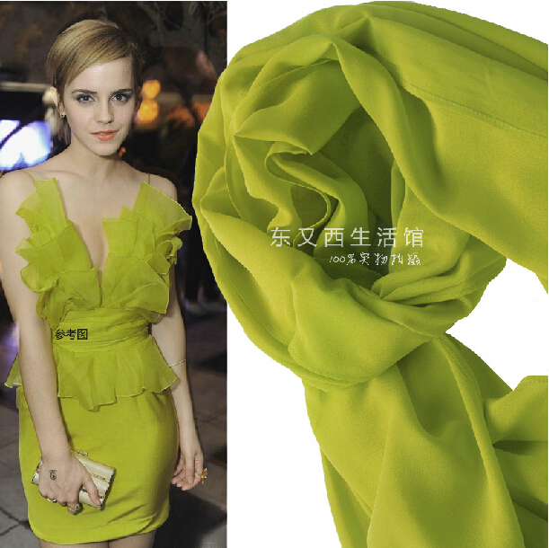Popular mustard green solid color scarves and shawl with ...