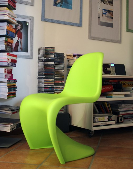 Modern Design Por Matt Color S Shape Dining Chair Molded Plastic Room Furniture Fashion