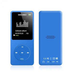 Music-Player Pouch Fm-Recorder MP3 Playback Lossless E-Book Sound TXT Newest 70-Hours