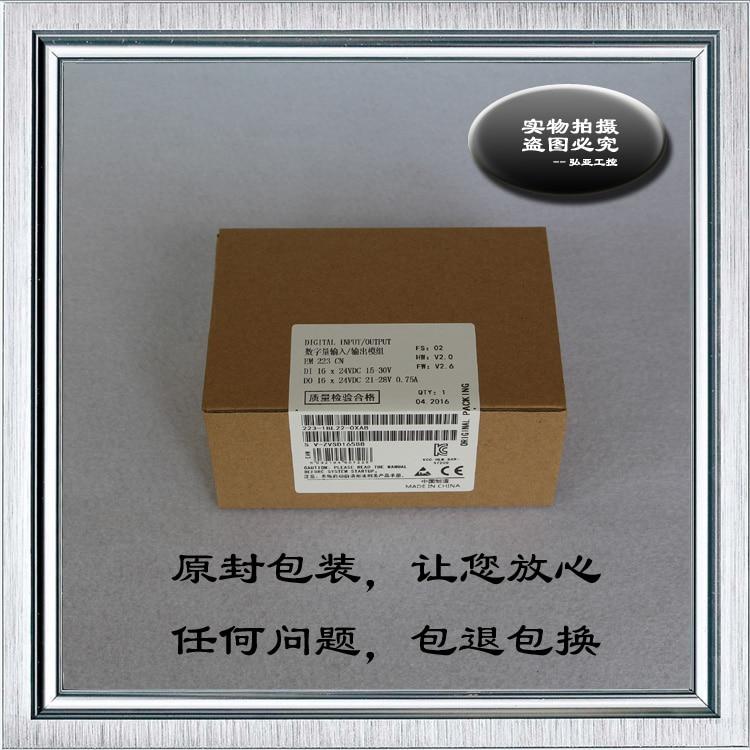 Compatible avec le commutateur PLC S7-200 EM223 transistors 16-in et 16-out 6ES7 223-1BL22-0XA8
