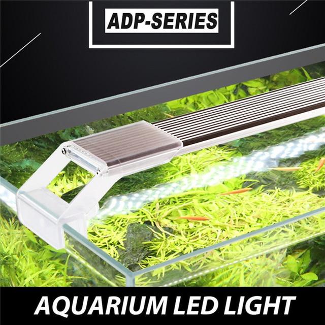 Аквариум ADP светодиодный аквариумный завод SMD освещение Chihiros ультра тонкий алюминиевый сплав Водонепроницаемая лампа для аквариума растит...