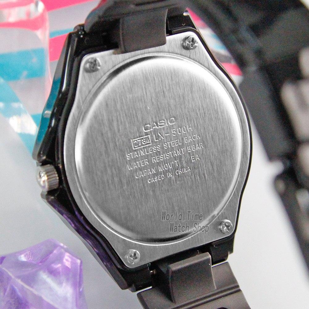 28f369665d2 Casio relógio Doces moda esportes relógio de estudantes do sexo feminino LX  500H 2B LX 500H 1E LX 500H 1B em Mulheres Relógios de Relógios no  AliExpress.com ...