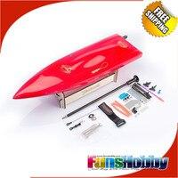 Tenshock мини моно мини Scord комплект стекло волокно RC игрушечная лодка пропеллеры Высокое скорость дистанционное управление Электрический для