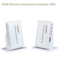 New Wireless HDMI Extender transmission up to 30M Support HDMI 1.4 HDCP 1.4 3D 1080P Compatible with HDMI devices HDTV
