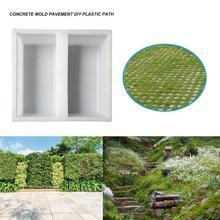 Plastic Form for Paving Slabs Concrete Molds Garden Path Maker Road Cem