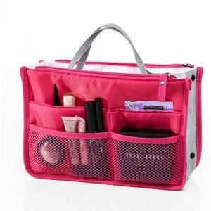 Image 1 - 多機能収納パッケージ女性化粧品袋ビッグサイズの化粧ポーチ良質旅行ハンドバッグトイレタリーバッグオーガナイザー