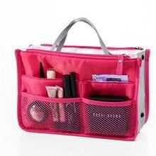 Multi função de maquiagem pacote de armazenamento feminino saco de cosméticos tamanho grande saco de maquiagem boa qualidade viagem bolsa de higiene pessoal organizador
